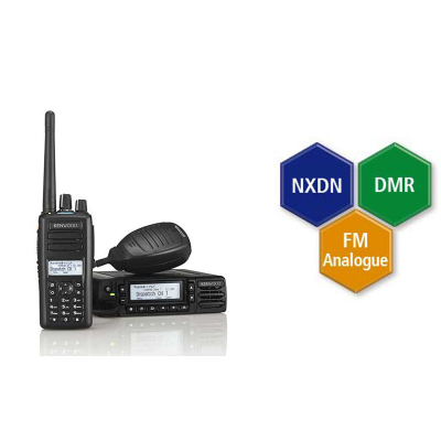 Kenwood Licensed Digital DMR Two Way Radios