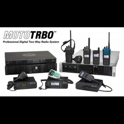 Motorola Digital DMR radio system